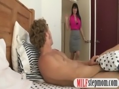 Guy catches her girlfriend eating her hot stepmom pussy free