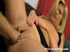 Huge pierced vagina fisting orgasms free