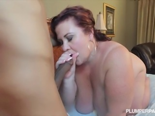 Plump Big Tit Mother Fucks Her Son's Best Friend