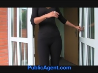PublicAgent Caseys show off her bubble butt and fucked for cash free