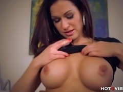 Busty European bombshell, Stacy Silver, moans in tremendous ecstasy and has...