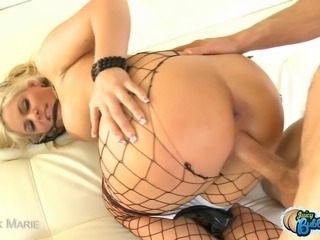 Phoenix Marie is a busty blonde with a huge round sexy ass and she loves to have her tight asshole fucked!
