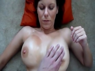 Amateur Video Of Amateur Filming wifes oiled boobs