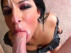 Nice and seducing P.O.V. where Tori Lux wants to eat, and what can be better...