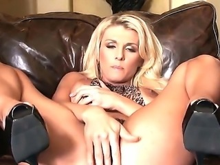 Gorgeous Alicia Secrets felling slutty and horny, so wants to have sex. She starts to show her wet and juicy pussy, masturbate and penetrate her ass and cunt with her playful fingers.