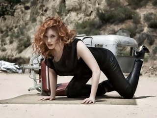 3 Minutes with Christina Hendricks