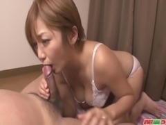MILF Meguru Kosaka Sucks Dick And 69s In POV free