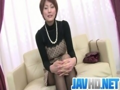 Saoris Busy With Her Vibrator On Her MILF Pussy free