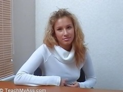 Teen wants to try anal sex(Brook)