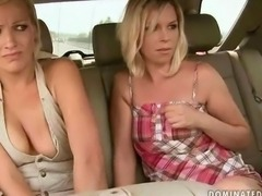 Two sex slaves getting bondaged and fucked
