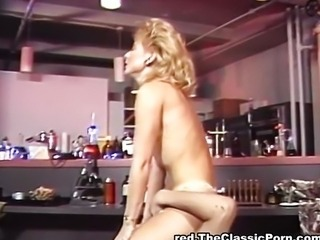 Getting oral and vaginal from blonde