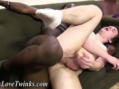White twink fucked and facialized