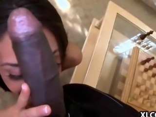 Big cock deepthroat with Lyla Storm