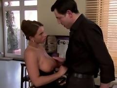ITALIAN BUSTY MILF : OFFICE ANAL SEX