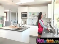 Jealous MILF stepmom with Ariella Ferrera free