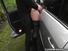 Wife gangbanged at highway rest area free