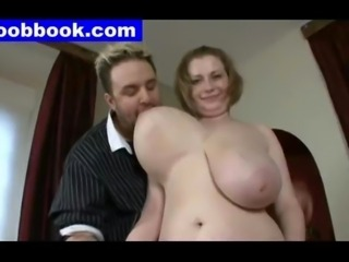 sexy huge boobs grope