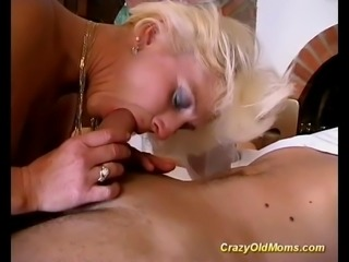 This german mature babe is deeply and roughly ass fucked by young stud juts like in the good times!