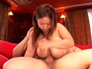 Nice japanese girl with giant tits