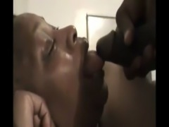 Black Granny face fucked n facial free