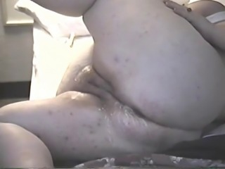 Fisting BBW pussy & ass