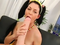 Young Isabell adores fucking her ass hole with her sex toys. The chick is...