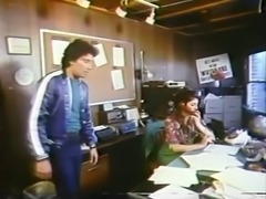 Vintage Office Sex (Two Scenes)