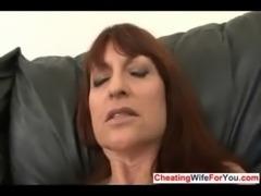 Mature wife masturbates free