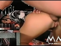 German stripper gets fucked hard in the club