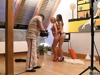 Silvia Saint gets unthinkable sexual pleasure with lesbian Eufrat Mai