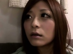 Young nippon babe enjoying oral session
