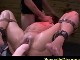 FetishNetwork Ava Kelly slave hooked on fuck machine