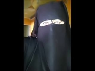 under my djelaba in niqab