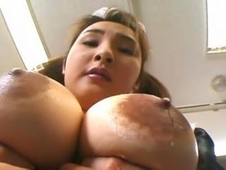 Impeccable Japanese gal enjoys raunchy sex