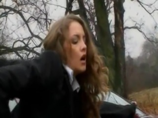 Schoolgirl Gets Fucked In The Woods free