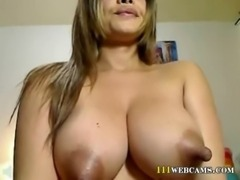 Latina milf with boobs with big nipples free