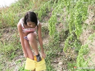 African Paula O going solo on cam