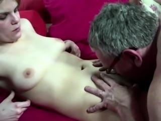 Real dutch hooker tastes old mans spunk