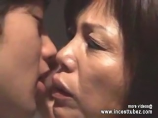 Japanese Mom Unable Sleep And Go to Son Room For Fucking free