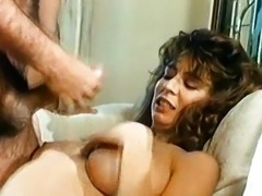 Ron Jeremy and Christy Canyon