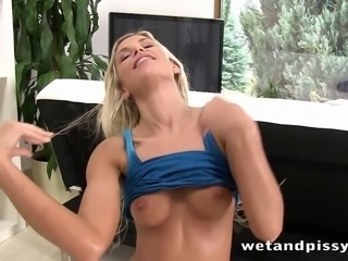 Hot european Liz uses her mouth to get our guy off