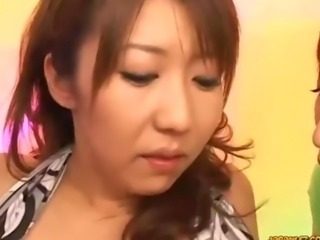 Busty Asian Woman Getting Her Nipples Sucked