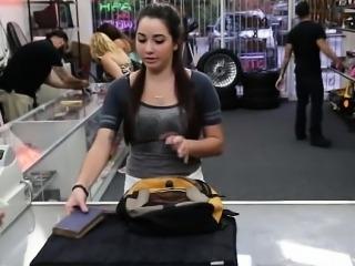 Latina amateur flashes big jugs