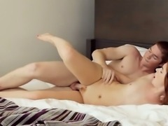Erotic muff diving for cute nubile