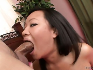 Kimmy Thai enjoys another nice cumshot session