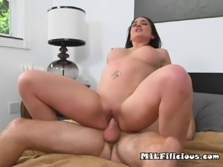 Horny slut MILF Isabella is taking this ride seriously
