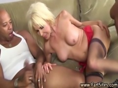 Mature interracial hoe gets fucked free