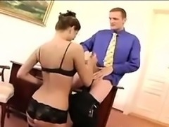 Secretary Fucked In The Office