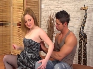Saboom presents young euro girl Paris Diamond. She is a little bit shy but...