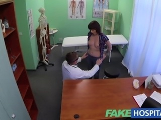 FakeHospital Doctor solves patients depression through oral sex and fucking during consultation